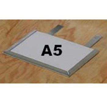 Porte étiquette amovible format A5