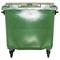 Bac plastique 770L vert/vert
