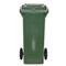 Bac plastique 80L vert/vert