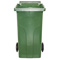 Bac plastique 240L vert/vert