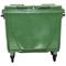 Bac plastique 660L vert/vert